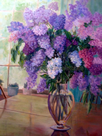 Paintings By Anne Laviolette Summer Flowers